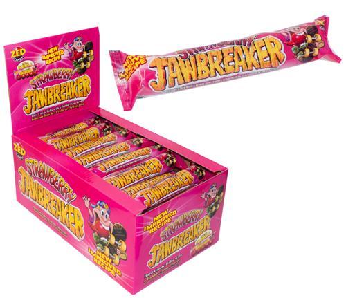 Zed Jawbreakers Strawberry 5 pack
