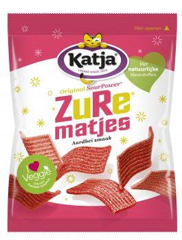 Trendy Candy Katja Zure Matjes Aardbei 70 gr