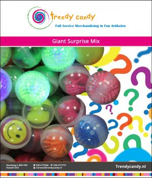 Trendy Candy - Giant Surprise Mix 100 stuks