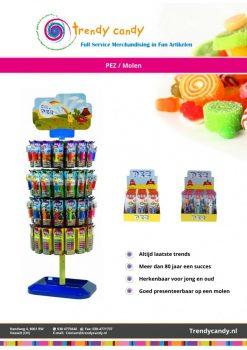 Trendy Candy PEZ Molen Rond