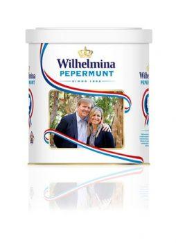 Wilhelmina Pepermunt Luxe Blik Koninklijk