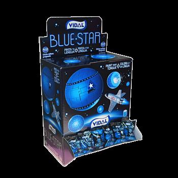 Vidal Bleu Star Gum 200 stuks