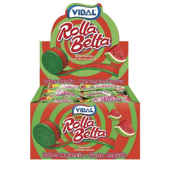431389 – Vidal – Rolla Belta Watermelon 24 stuks