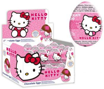 Hello kitty chocolade ei 24st.