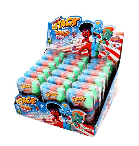 AS – Triple Attack Candy Spray 18 stuks