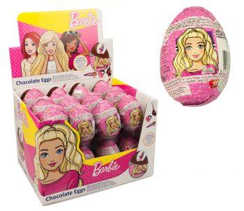 Bip Barbie Chocolade ei 24st