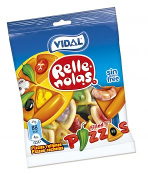 Vidal - Pizza's 100gr. 14st.