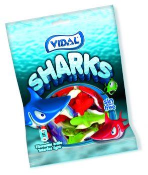 Vidal - Sharks 100gr. 14st.