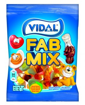Vidal - Fab Mix 100gr. 14st.