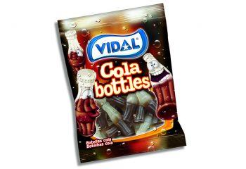 Vidal - Cola Bottles 100gr. 14st.