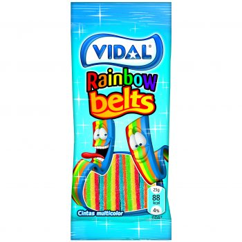 Vidal - Rainbow Belts 100gr. 14st.