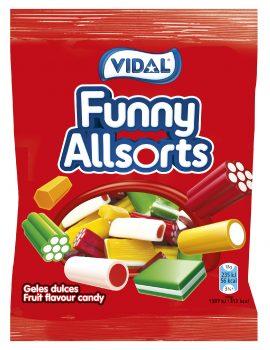 Vidal - Funny Allsorts 100gr. 14gr.