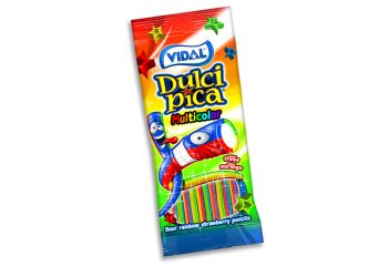 Vidal - Sour Rainbow Pencils 100gr. 14st.