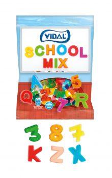 Vidal - School Mix 100gr. 14 stuks