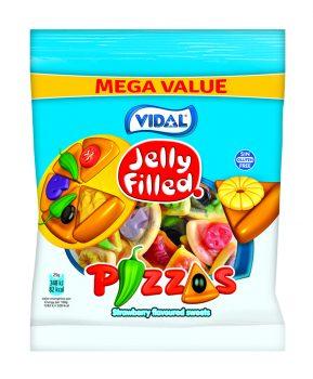 Vidal - Jelly Filled Pizzas 300gr. 20 stuks