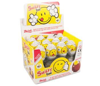 Zaini - Smiley Chocolade eieren 24 stuks