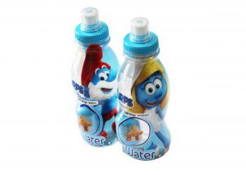 Water & Surprise Drinks - Smurfen 0,3ltr. 12 stuks