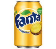 2402 - USA - Fanta Pineapple 355ml 12 stuks