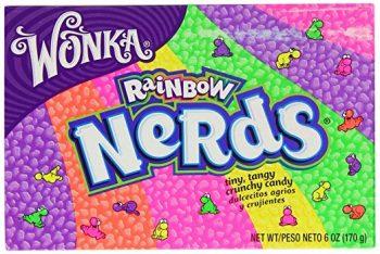 USA - Wonka Nerds Rainbow Box 12 x 141g.