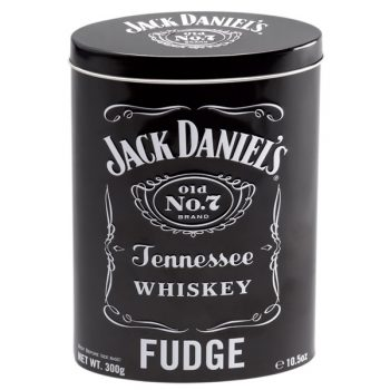 TC - Jack Daniel's Fudge Tin 12 x 300gr.