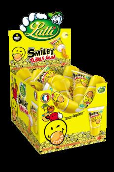 Lutti Tubble Gum Smiley 36 stuks