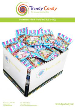 Stortmand Refill Party Mix (klein) 120 x 150g