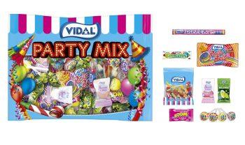 Vidal - Party Mix 400gr. 20 stuks