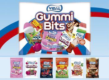 Vidal - Gummi Bits Uitdeelzak ( 15 x 20g) 12 stuks