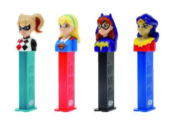 PEZ - Super Hero Girls 12st.