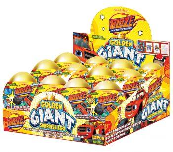 TC - Golden Giant Surprise Eggs Blaze 12 st.