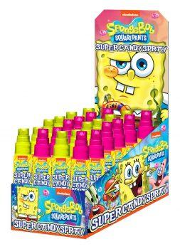 TC - Candy Spray Sponge Bob 24 st.