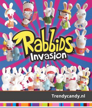 Rabbids Invasion 2 euro capsules 100st