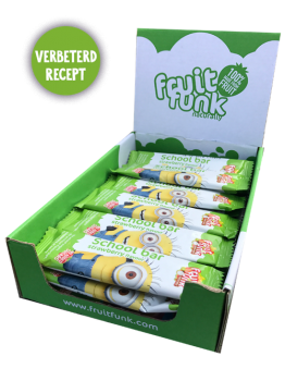 Fruitfunk - Minions Fruitbars Strawberry 24st.