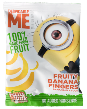 Fruitfunk - Minions Happybag Banana Flakes 14st.