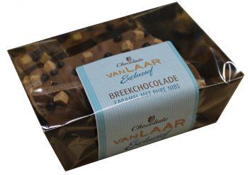 VLE - Breekchocolade Caramel met pure nibs 150gr.