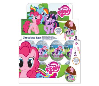 TC - My Little Pony Chocolate eggs 24st.