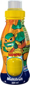 3001A - Surprise Drinks (Turtles) Multifruit 0,3 ltr. 6 st.