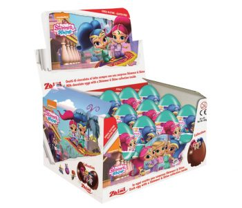 TC - Shimmer and Shine Chocolade Ei 24st.