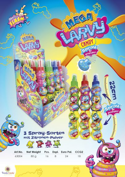 AS – Mega Larvy Spray & Powder 16 st.