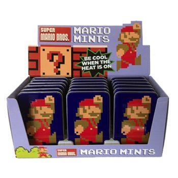 Nintendo - Mario 8-bit Mints 18st.