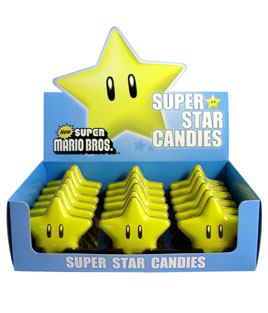 Nintendo - Super Star Candies 18st.