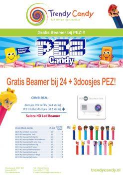 PEZ Actie (24+3) met gratis Beamer 2019