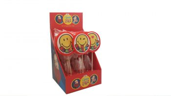 HF - Smiley Ronde Lolly 17st.