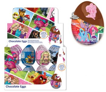 413023 - Licence Mix Chocolade eieren. 24st.