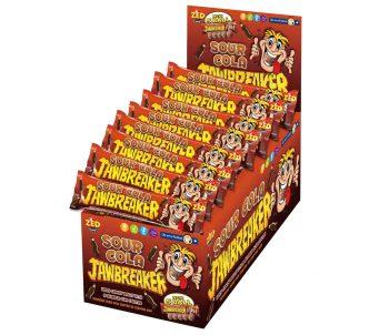 Zed Jawbreakers - Sour Cola 5-strip 40 stuks