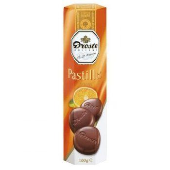Droste - Pastilles Melk/Orange Crisp 12x100g