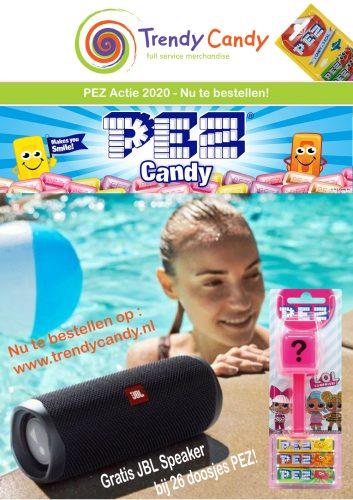 PEZ – ACTIE 2020 (gratis JBL) 22+4 refill. 1 pakket