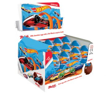 TC - Hot Wheels Chocolade Ei 24st.