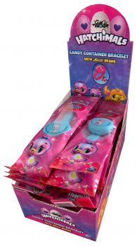 Hatchimals - Candy Container Bracelet 24 pcs.