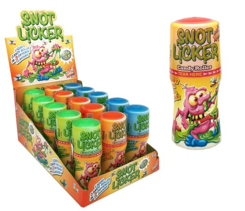 AS – Snot Licker Candy Roller in Display 15 stuks